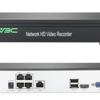 2MP HD 4 Port H.265 POE NVR