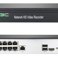 5MP HD 8 Port H.265 POE NVR